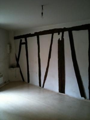 Le studio avant rénovation